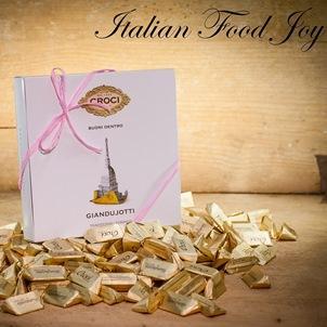 Giandujotti chocolates from Torino, Italy
