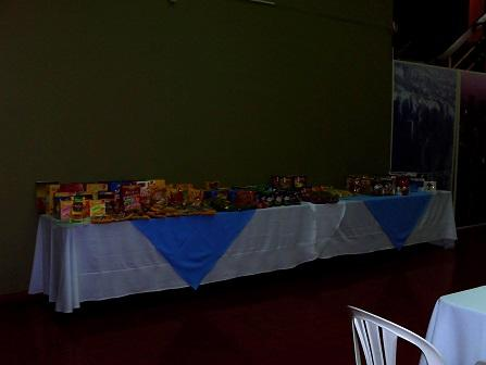 Presentaciòn y muestrario, de nuestros productos en los salones del Banco Naciòn a importadores en la ciudad de Veracruz  Bolivia