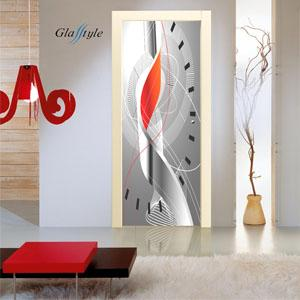 Porte in cristallo scorrevoli con immagini stampate realizzate su misura create dalla Serglas s.r.l. Venezia Italia