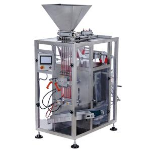 Stick pack machine for sugar packaging