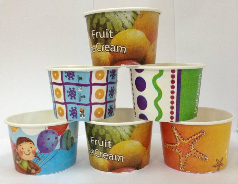 3.5 Oz Ice Cream Paper Cups