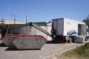 Schlammentwässerung mobil