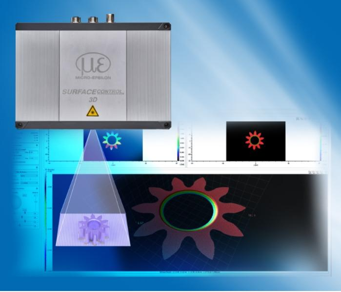 3D sensors for the inspection of geometry, shapes and surfaces