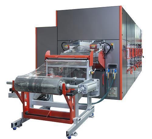 YM 850-650 HIGH SPEED THERMOFORMING MACHINE