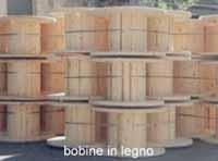 Produzione di bobine in legno