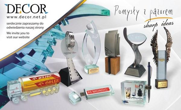 DECOR - Glass Awards and Business Gifts, Statuettes, Pokale