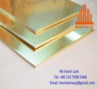 Copper composite panel facade wall cladding materials
