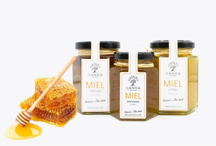 All kinds of Madagascar's honey