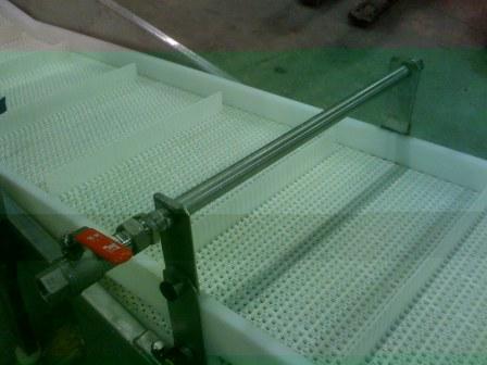 Fabricant tapis de rinçage pour maraîchers. Tapis de rinçage pour mâches.