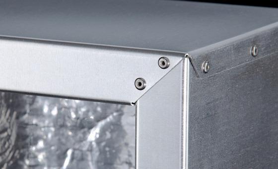 Box-contenitore per scambiatori di calore realizzato in alluminio