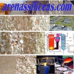 Arena de sílice para césped artificial y cesped natural, arena para chorreo, arena para filtros, arena para fundición con el mejor precio nacional.