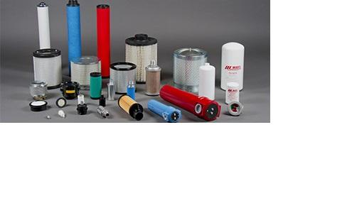 Complete range of filters for treatment of compressed air and vacuum pumps.