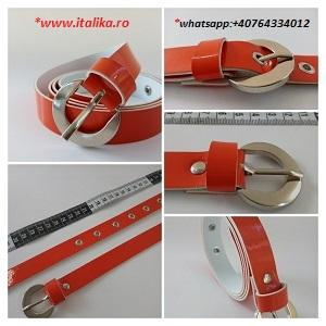 women pu shiny belts