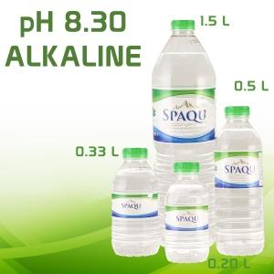 SPAQU Natural Mineral Water