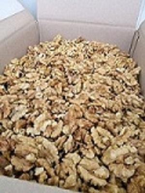 Miez de nuca mixt ambalat in cutii de 10 kg