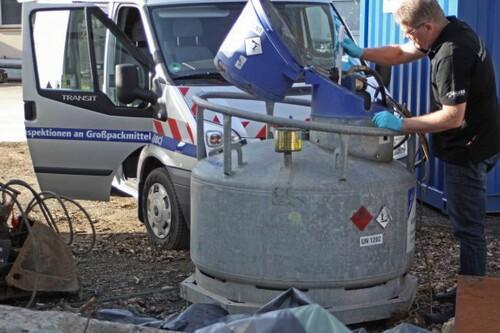 Prüfung an Mobilen Tankanlagen