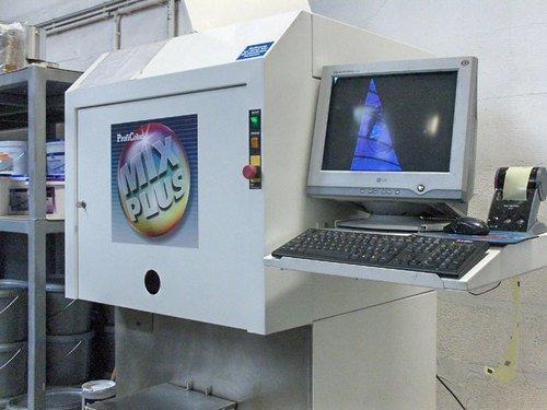 Farbenmischmaschinen