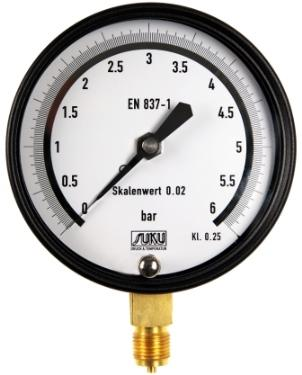 Precision test gauge accuracy 0.6