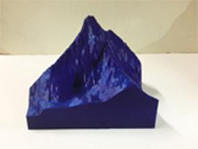 Example of 3D printing Geographical