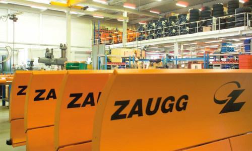 ZAUGG-Schneepflugproduktion