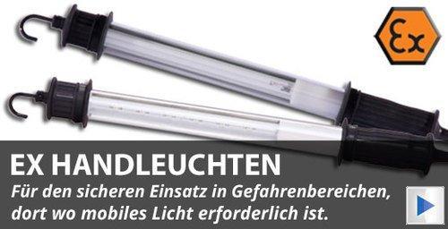ATEX LED Handleuchten