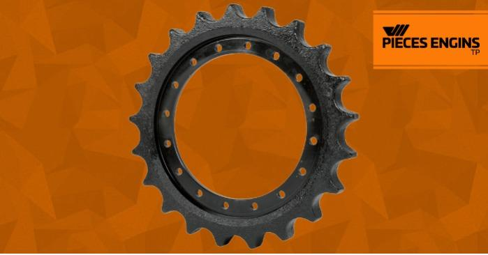 Sprockets Undercarriage - Pieces Engins TP