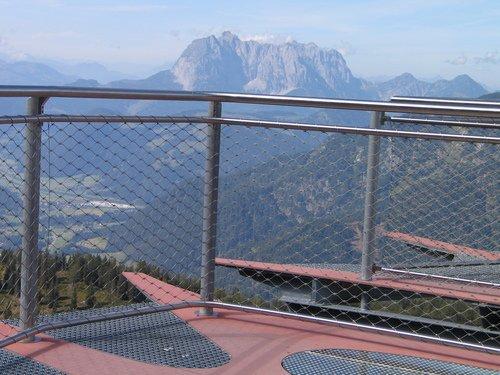 Aussichtsplattform - Waidring im Tirol