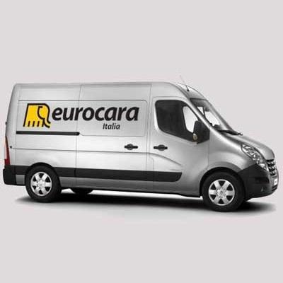 Furgone dell'assistenza tecnica Eurocara Italia