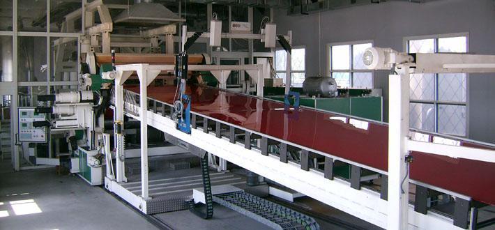 Производство монолитных листов из поликарбоната