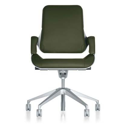 Office swievel chair with unique design and technical solutions. An object whose quality, curves and details will cause a real stir. The Silver family has been enriched with many ideas and thoughts.
