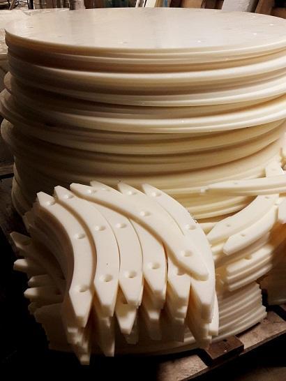Technical plastics milling service