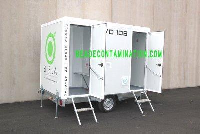 L'unité EVO 108 est la plus légère de sa catégorie avec seulement 730 kg à vide , elle permet aux petites équipes de réaliser des petites interventions de maintenance .