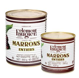 Marrons au Naturel Entiers à l'Eau