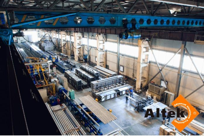 Production processes of the ALTEK company