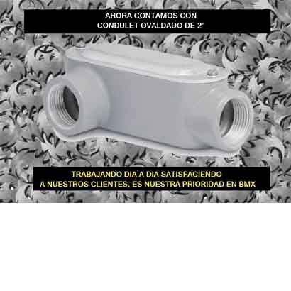 Oval Aluminium Condulet