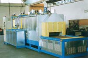 Alluminium chain oven