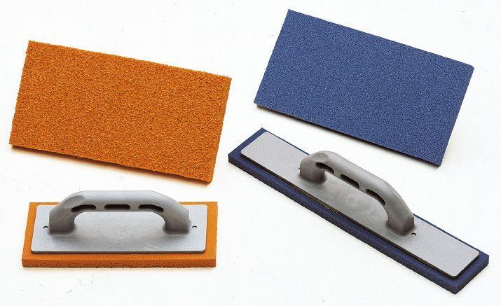 TROWEL SPONGE RUBBER BLUE GREY OR ORANGE RUBBER