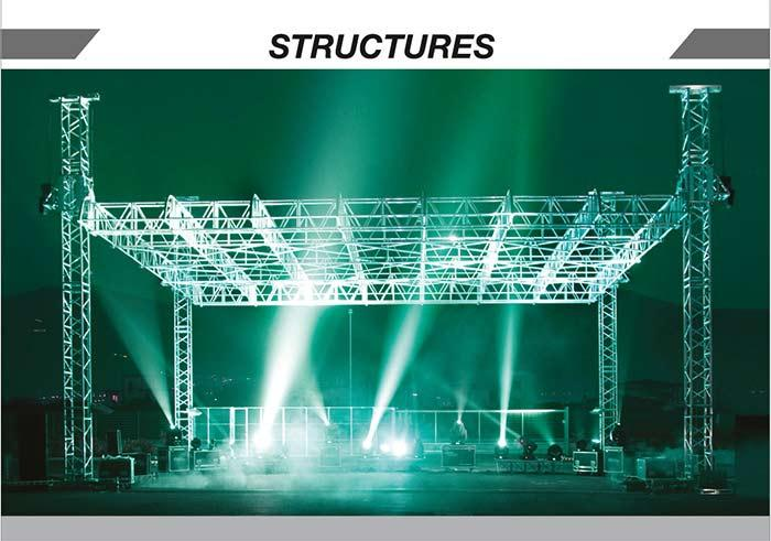 Efesto Structure's are at the forefront from the point of view of innovation and aesthetics. They are installable during, shows and events of all kinds.
