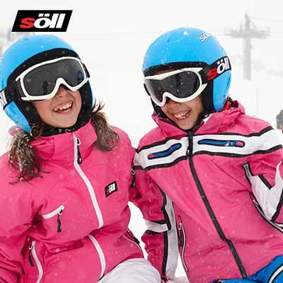 Söll technical ski wear for kids and teens