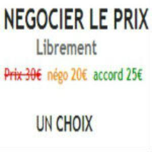 Negociation price