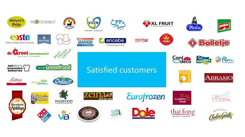 An overview of some of our customers.