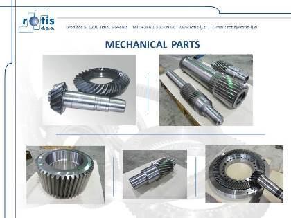 Different mechanical parts
