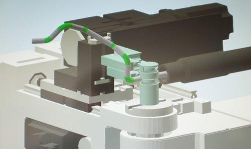 Simulation of a bending process