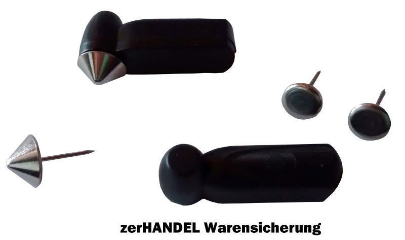 Mini Pencil für alle AM (58kHz) Sicherungsanlagen in grau/beige + schwarz
