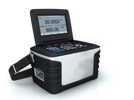 Calibrateur totalement automatique avec pompe intégrée jusqu'à 25 bars Précision 0,02% PE Module de pression double (basse et haute pression) Portable (5 kg) Certificat d'étalonnage NIST
