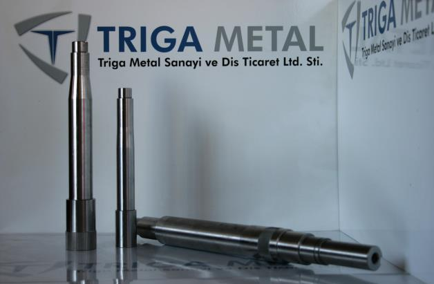 Capability to produce various shafts including heat treatment, grinding, coating etc.
