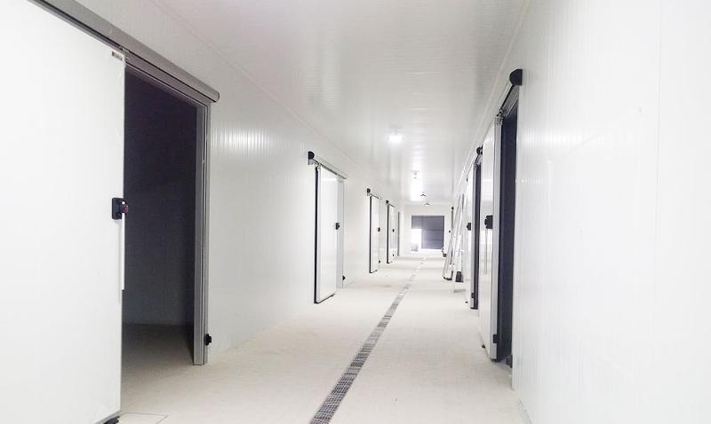 Puertas correderas para cámaras frigoríficas