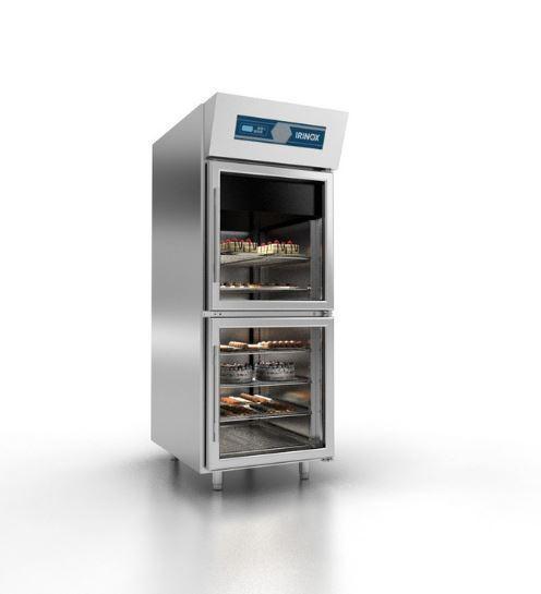 surgelatori rapidi di temperatura, conservatori e sistemi di lievitazione.