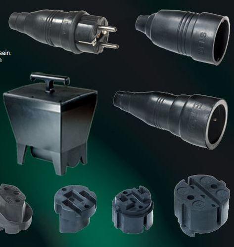 Gummisteckvorrichtungen/-verteiler