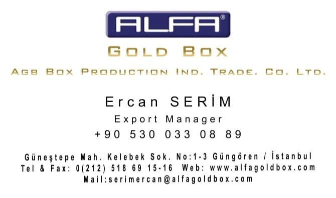 Export Manager - Business Card